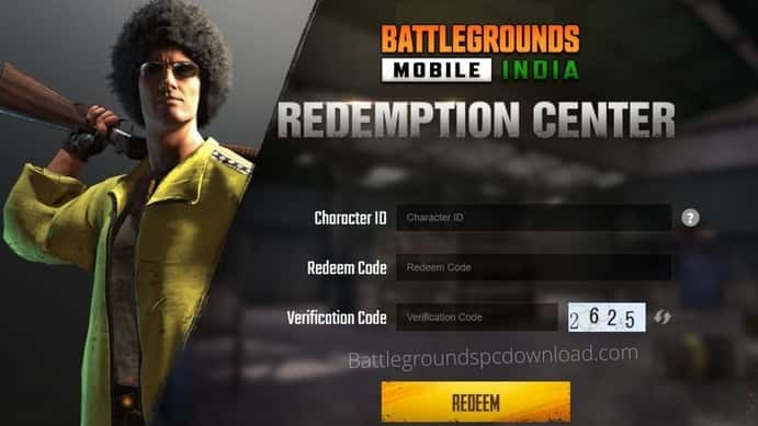 How to get Battlegrounds Mobile India redeem code Free 2021